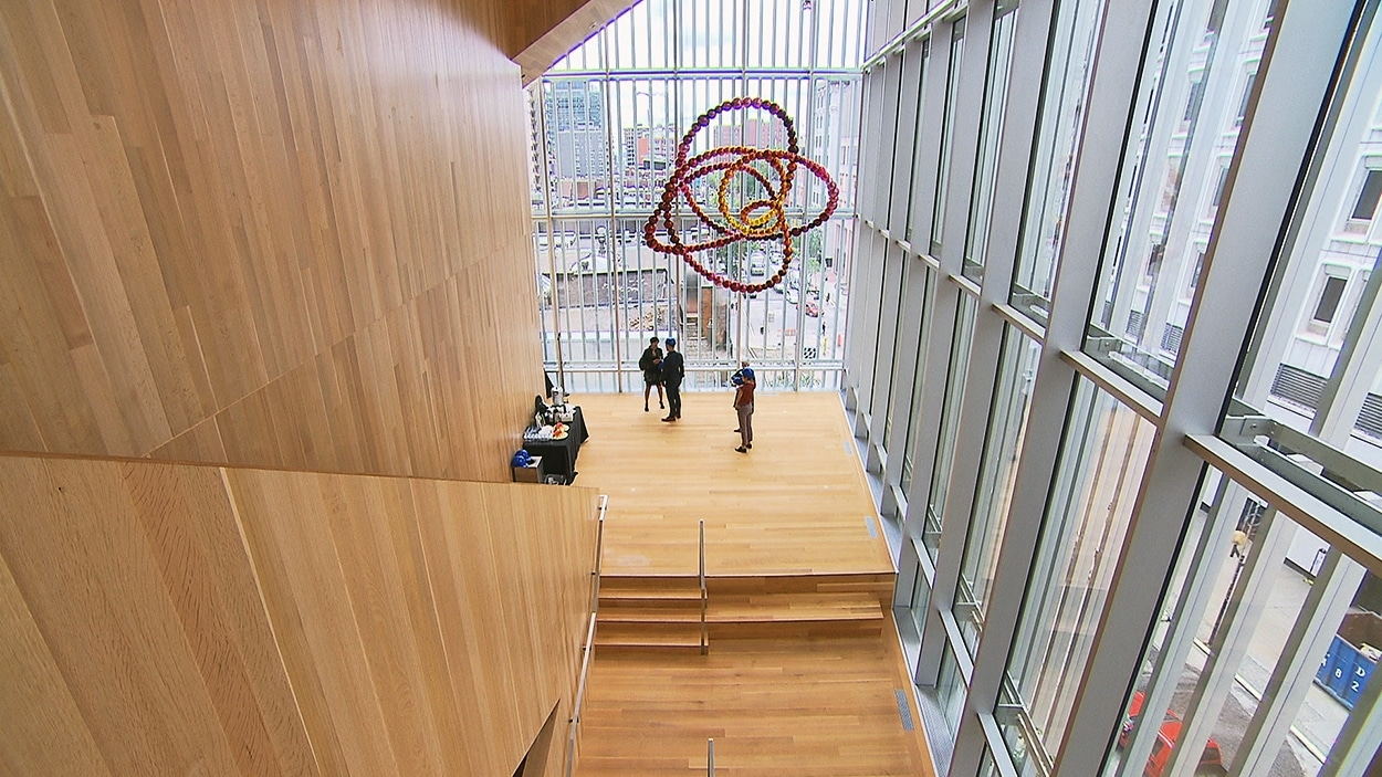 Le Pavillon pour la paix Michal et Renata Hornstein du Musée des beaux-arts de Montréal