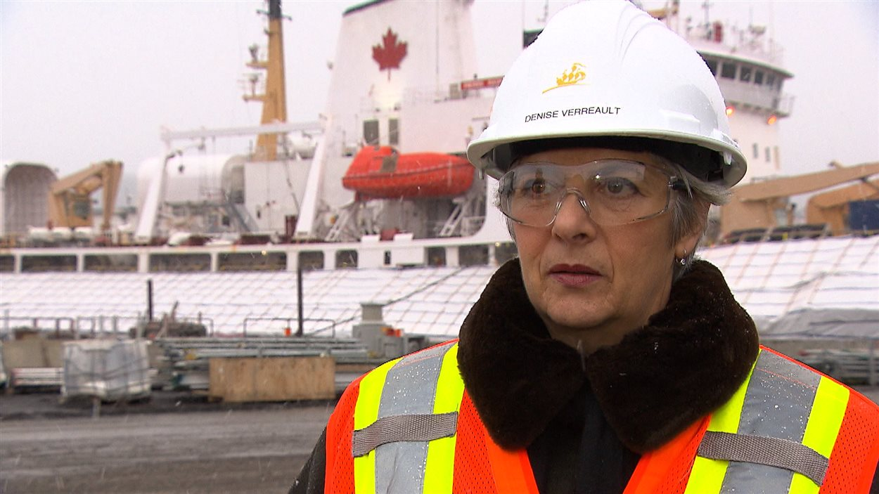 Denise Verreault, PDG de Verreault Navigation