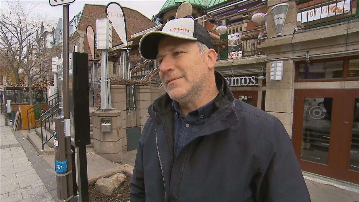 Louis McNeil, copropriétaire des restaurants Cosmos de Québec