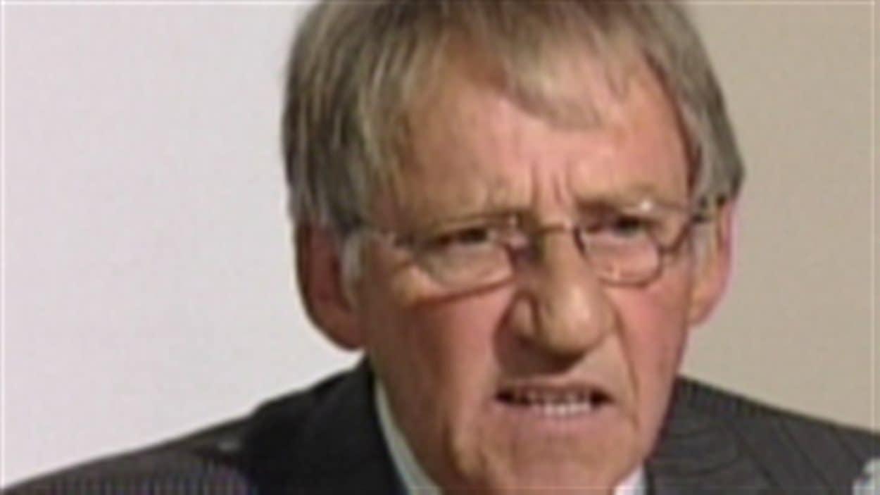 Roger Caouette, ancien maire de Rouy-Noranda