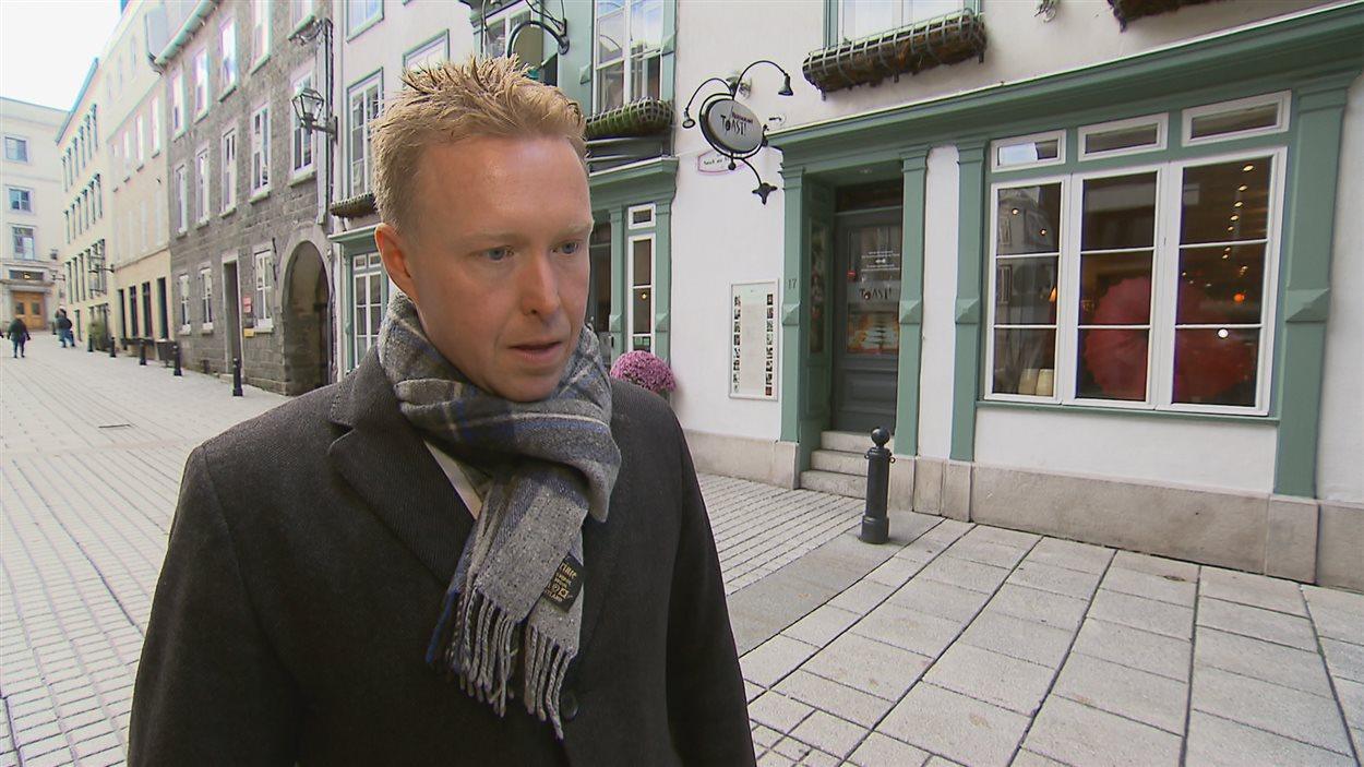 Christian Lemelin, chef et propriétaire des restaurants Le Toast et SSS