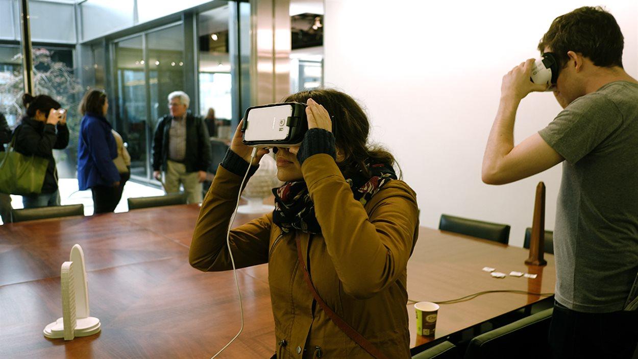 L'utilisation de la réalité virtuelle et de la réalité augmentée dans les bureaux de la firme d'architectes AS+GG de Chicago.