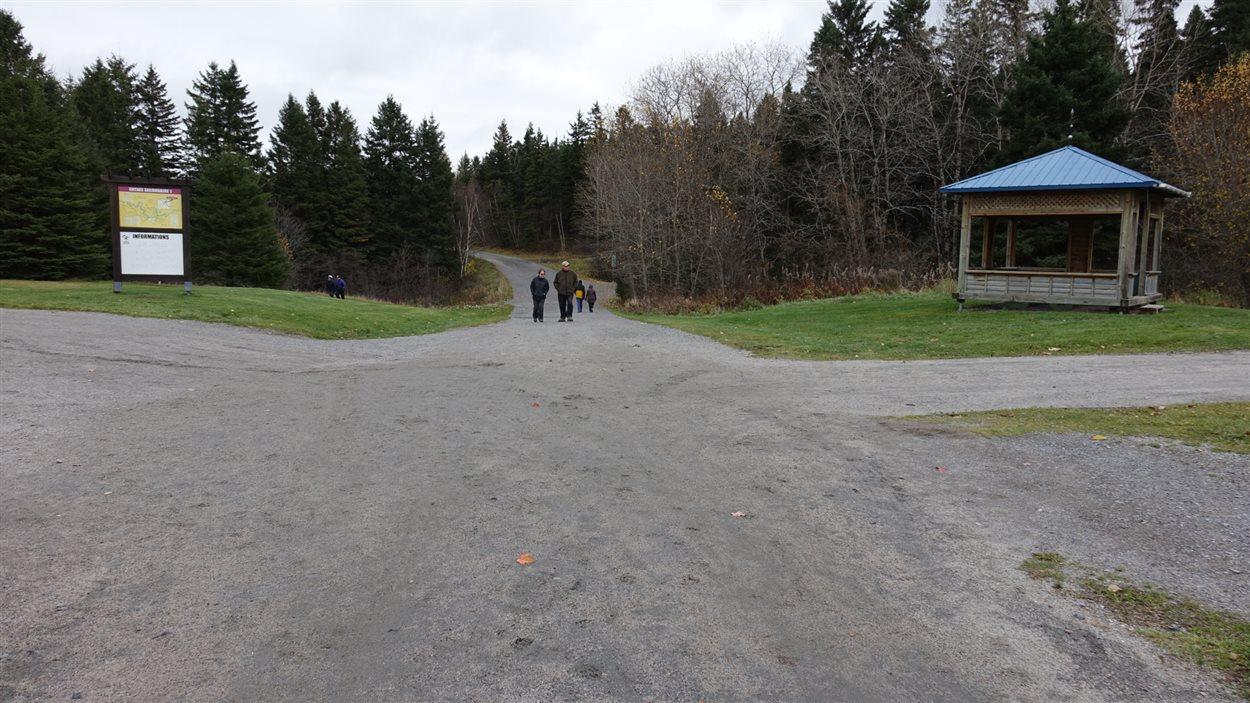 Le parc de la Rivière-du-Moulin dans l'arrondissement de Chicoutimi
