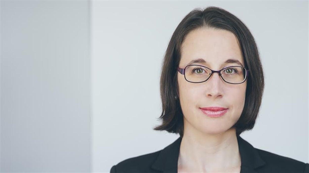 Marie-Ève Maillé, chercheuse de l'Université du Québec à Montréal
