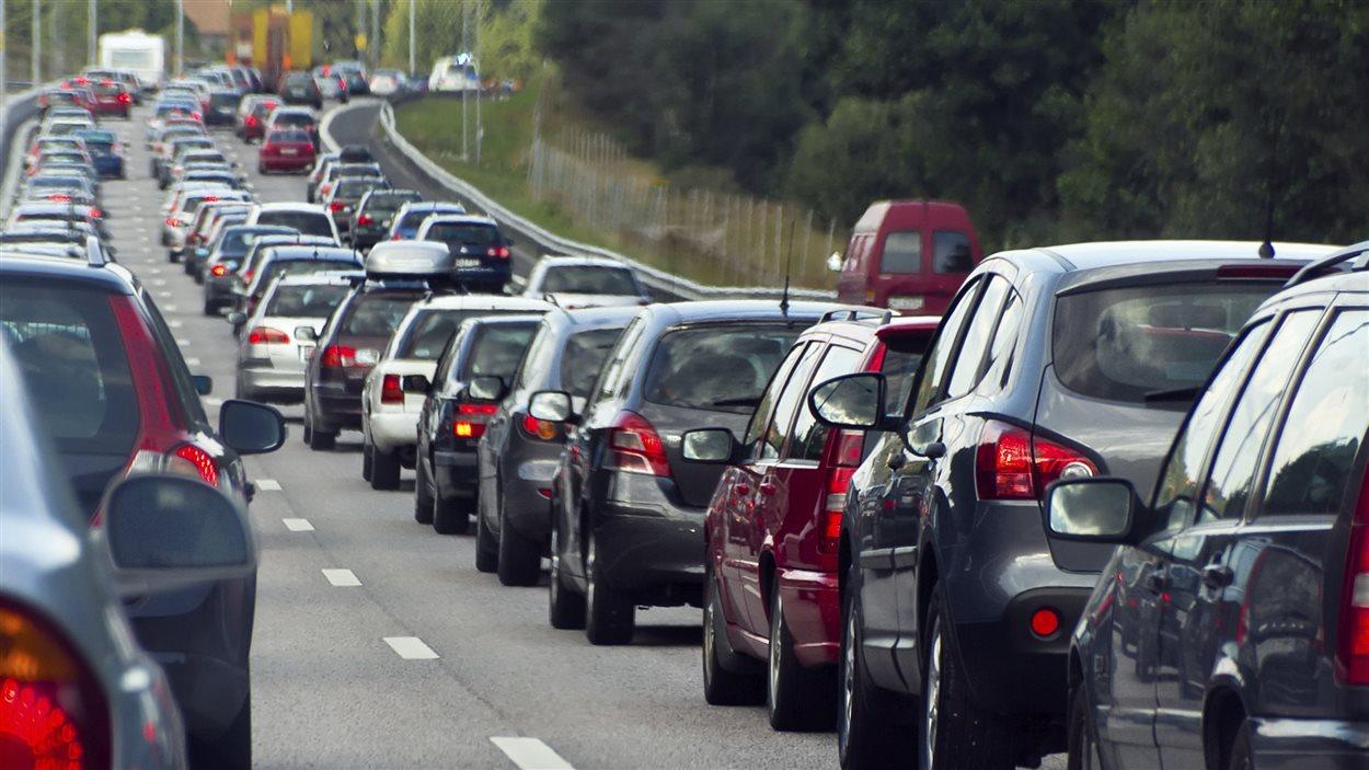 La congestion routière est de plus en plus problématique à Lévis