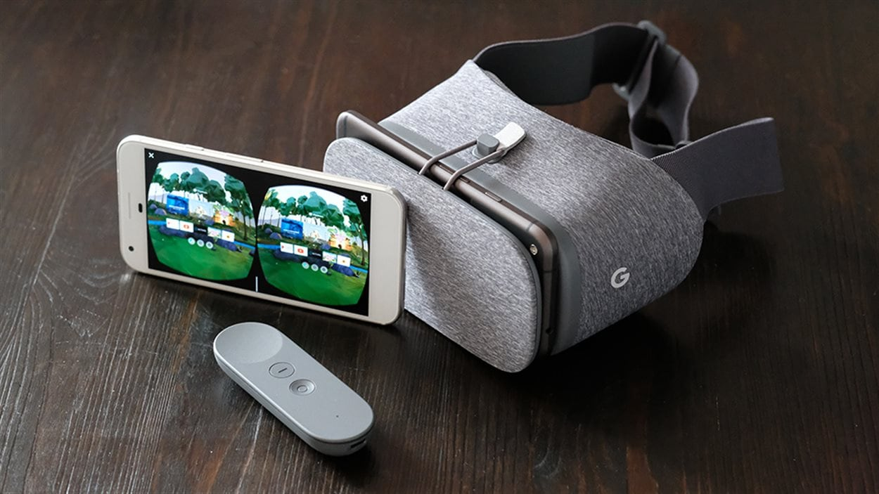 Ensemble de réalité virtuelle Google Daydream