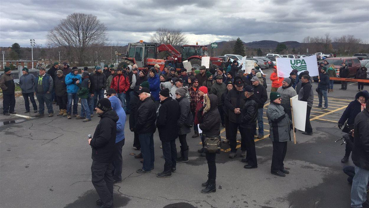 Manifestation d'agriculteurs
