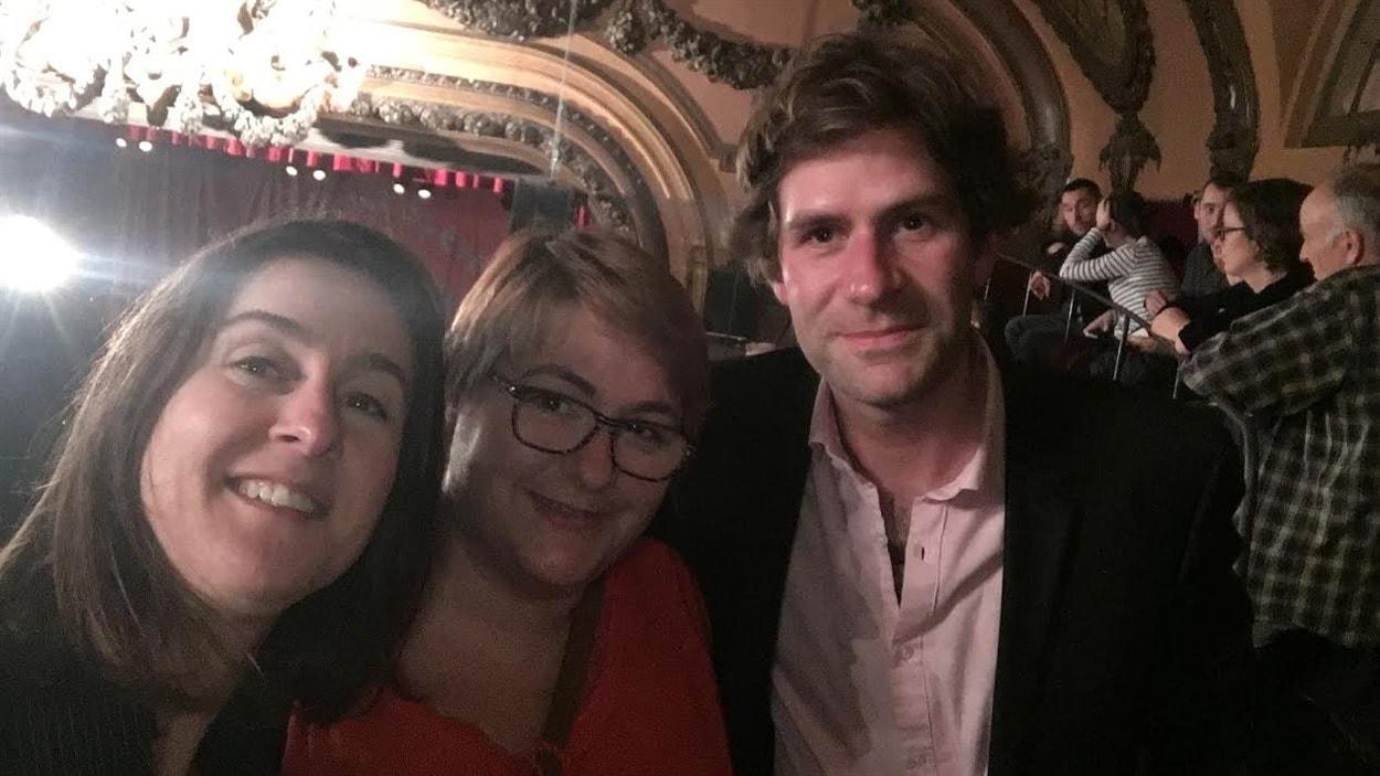 Audrey, Gwenn et Yann