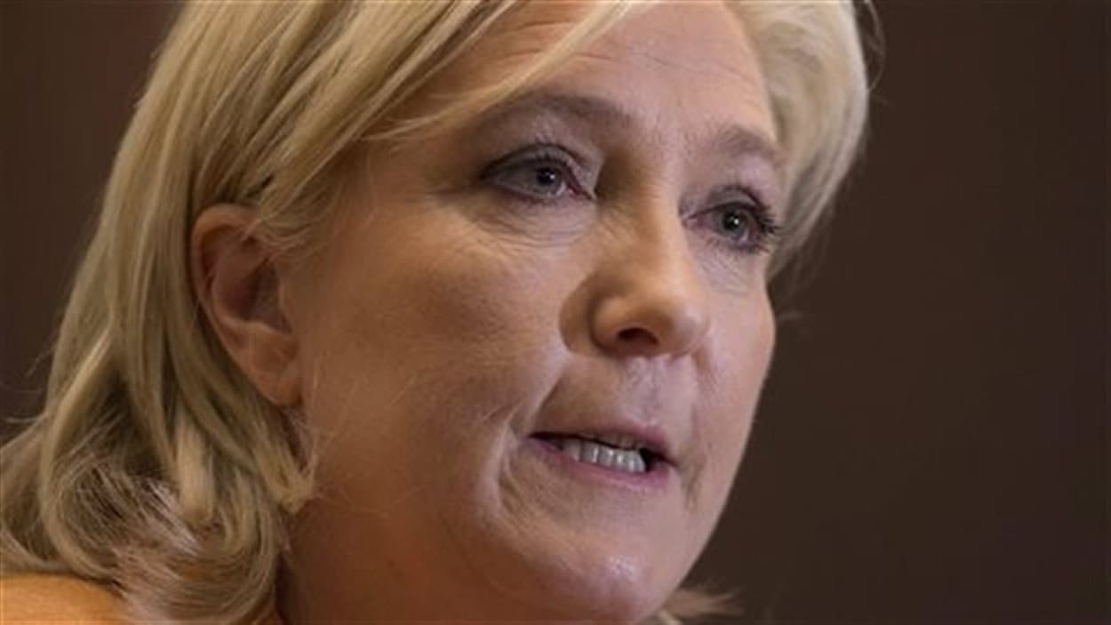 Marine Le Pen, chef du Front national