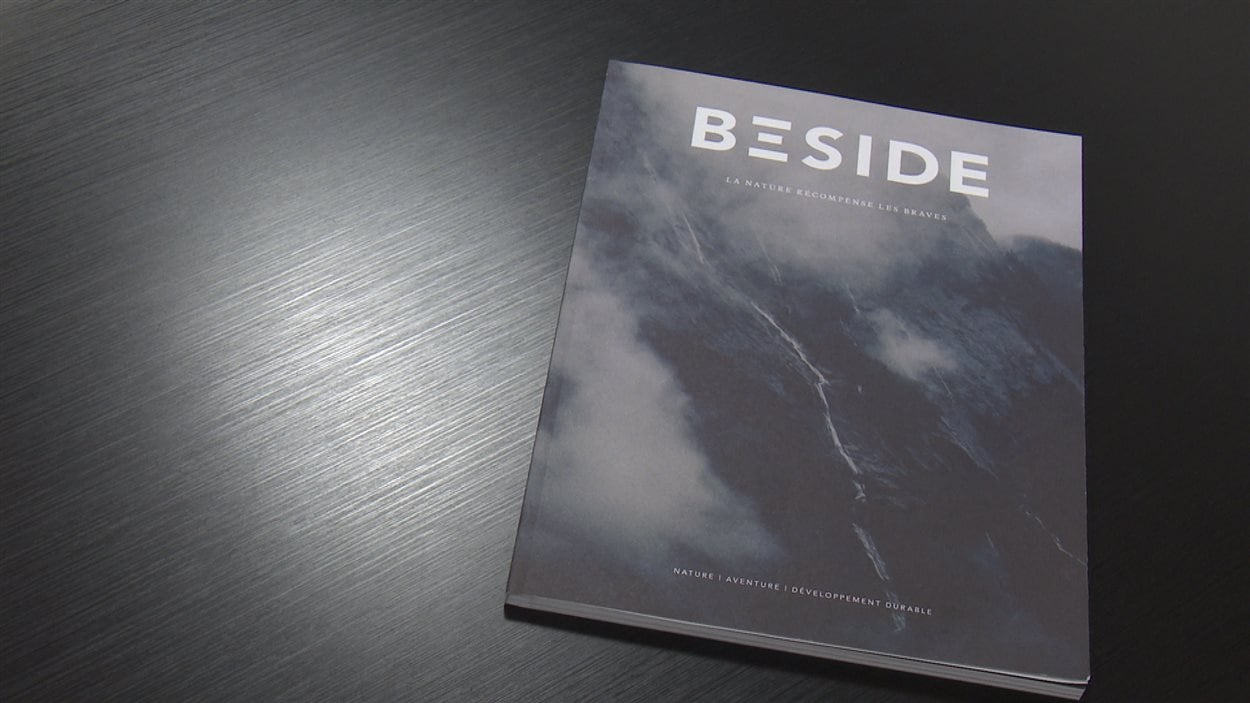 La couverture du magazine Beside