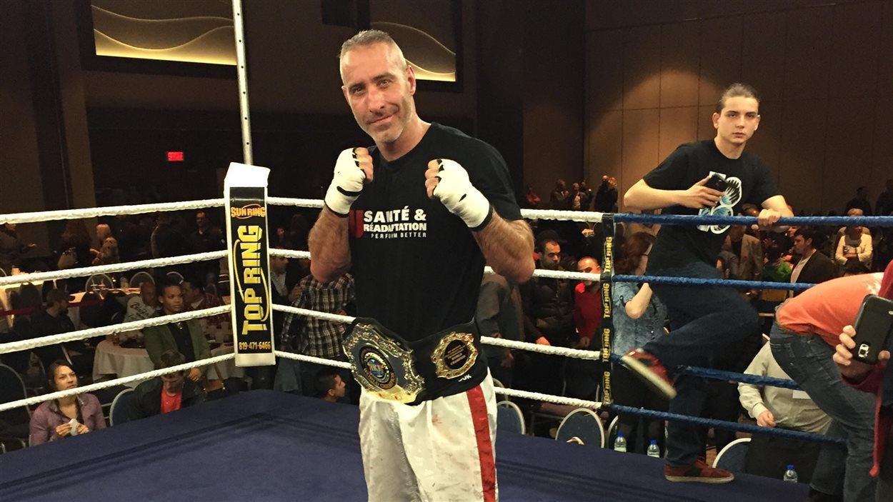 Le Gatinois Benoit Ladouceur, champion mondial dans sa catégorie