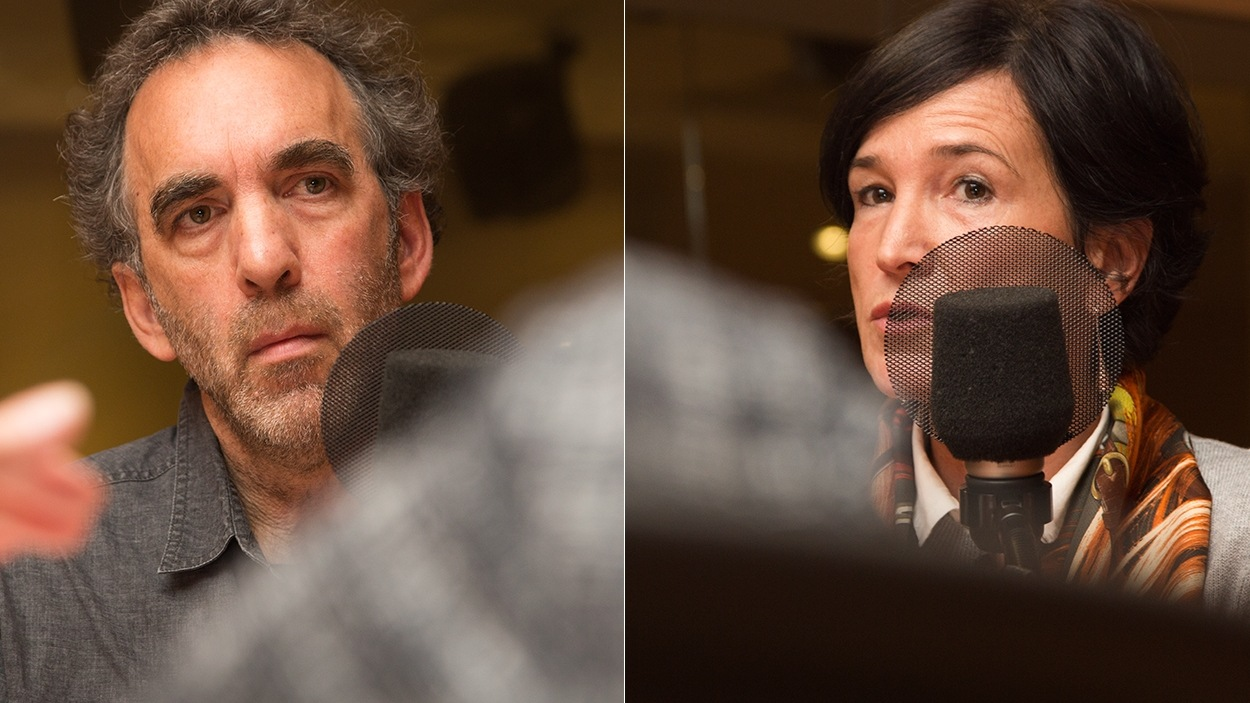 Sylvain L'Espérance et Valérie Amiraux
