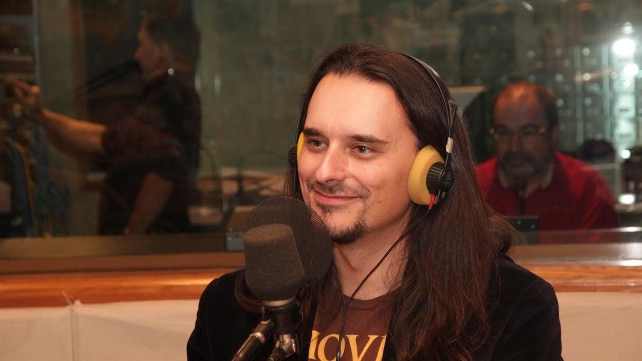 Dominic Arsenault, professeur à l'Université de Montréal et spécialiste des jeux vidéo