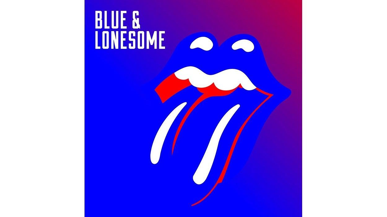 Pochette de l'album <i>Blue and Lonesome</i> des Rolling Stones, paru sous étiquette Polydor