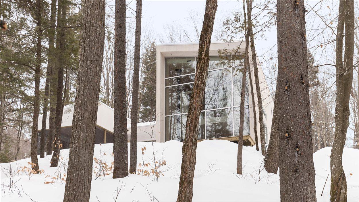 La Maison haute, conçue par L'Atelier Pierre Thibault