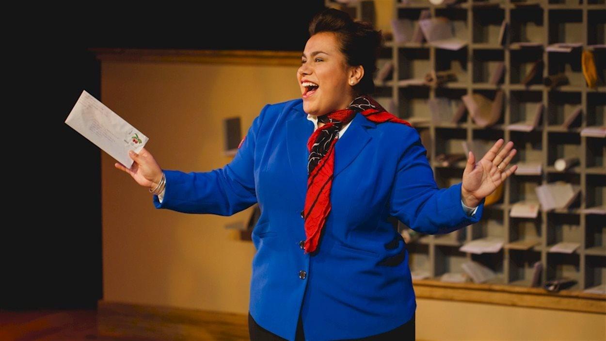 La chanteuse et comédienne Patricia Cano