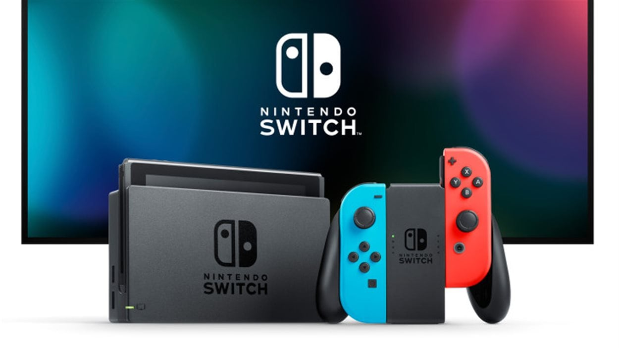 La nouvelle console Nintendo Switch.