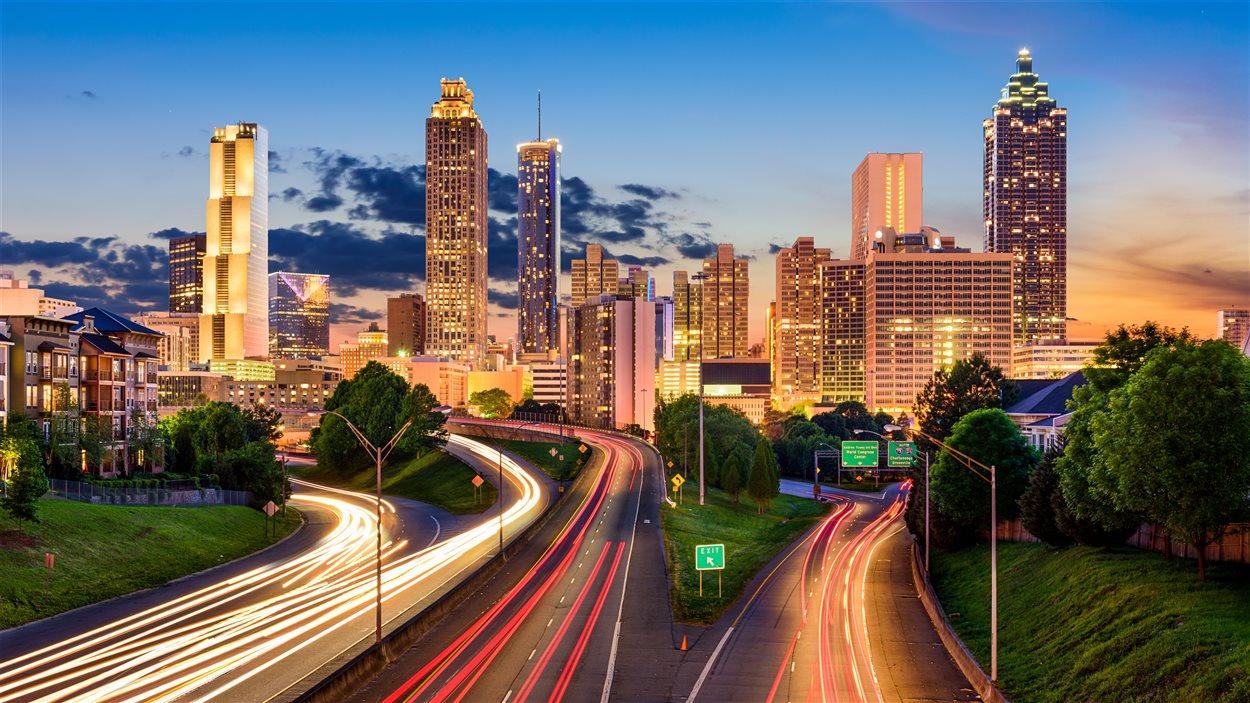 Des gratte-ciel à Atlanta, en Géorgie