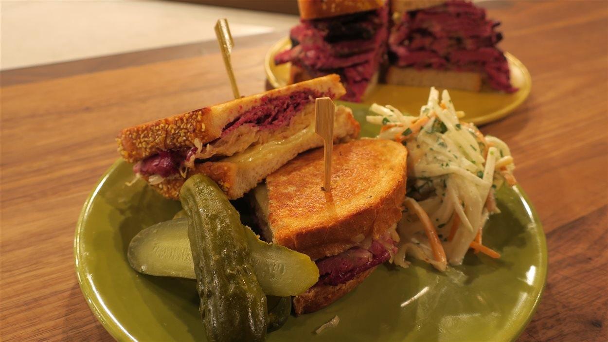 Sandwich de NY