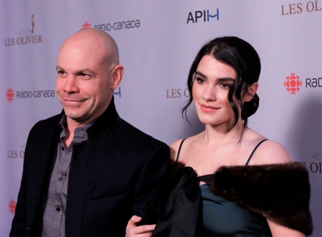 Maxime Martin et sa fille Livia Martin