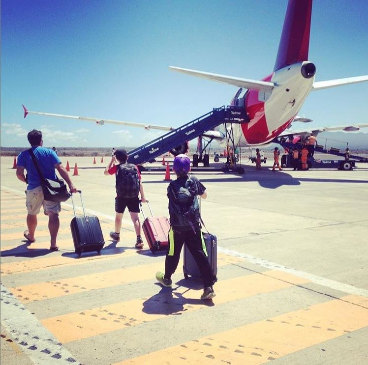 L'arrivée au Salvador.