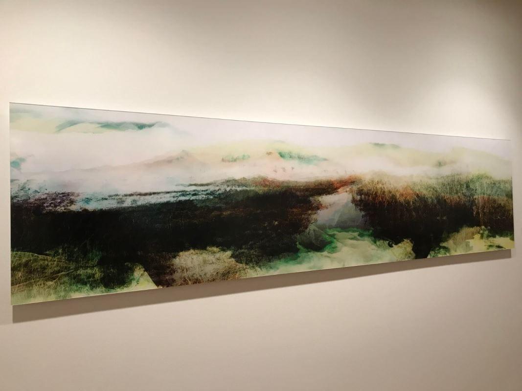 Un paysage abstrait.