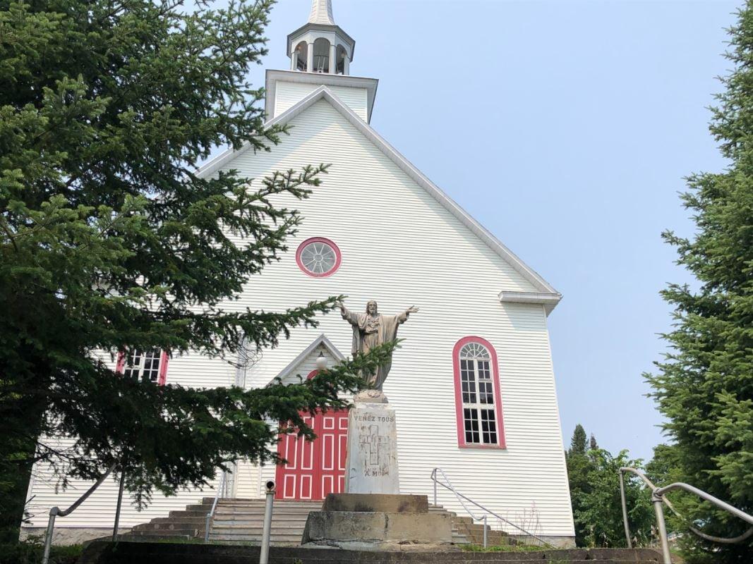 L'église de Saint-Étienne-de-Bolton.