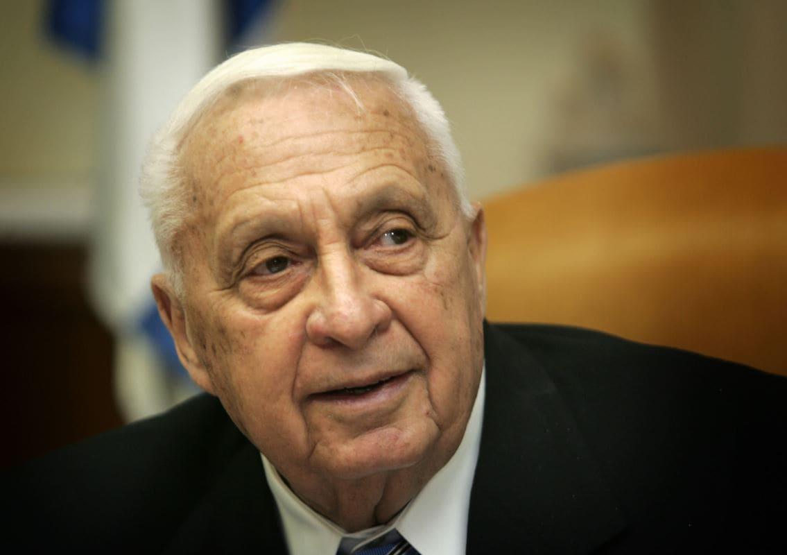 Ariel Sharon en décembre 2005.