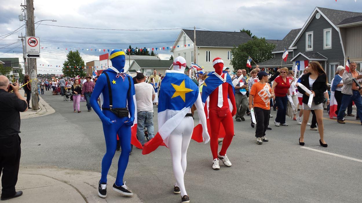 On fête les couleurs de l'Acadie