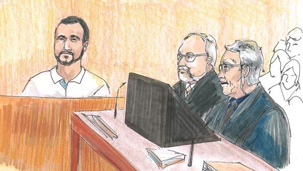 Omar Kadhr en cour à Edmonton