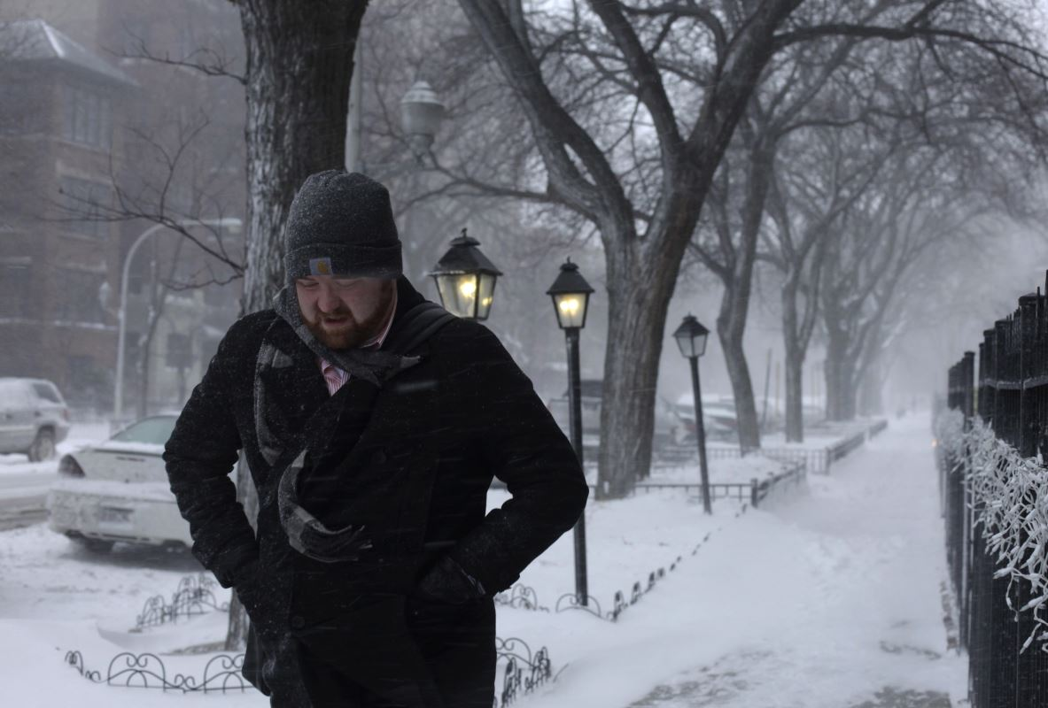 Chicago-neige