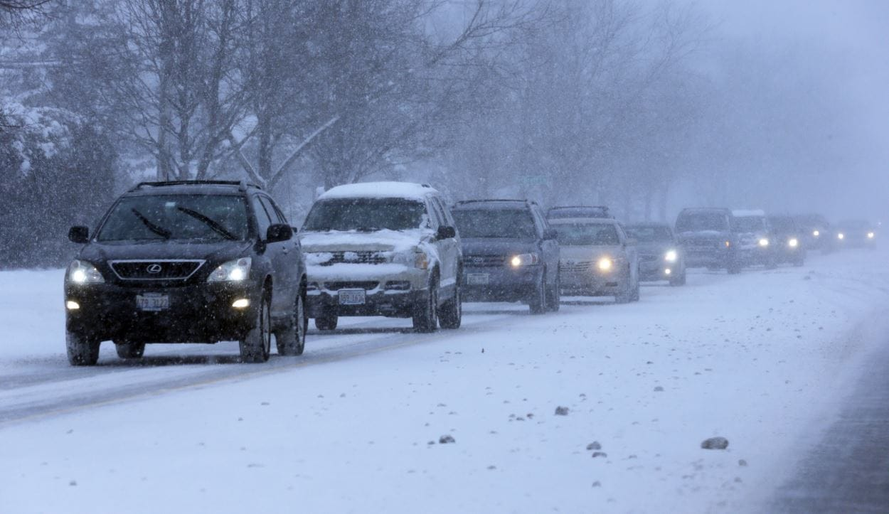 Chicago-trafic-neige