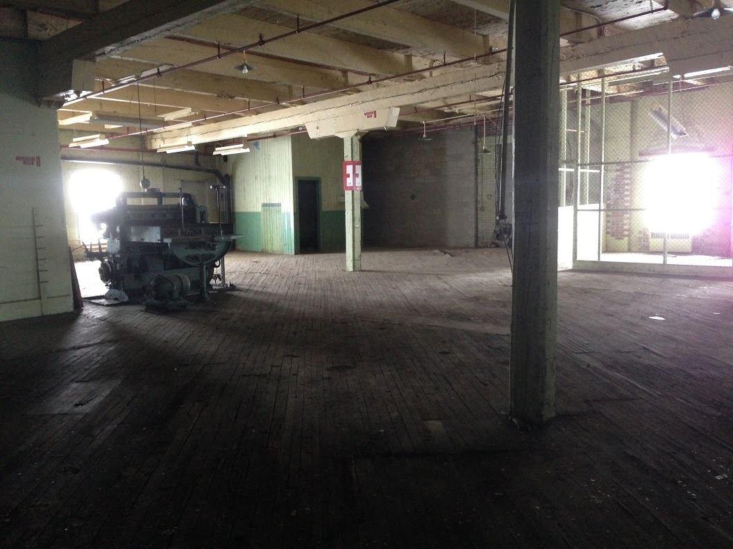 Les locaux de l'ancienne usine Domtar qui seront transformés avec le projet Zibi de Windmill.