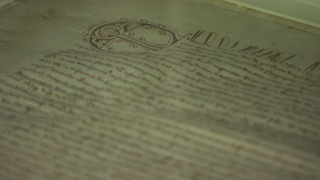 La Magna Carta est exposée au Musée canadien de l'histoire.