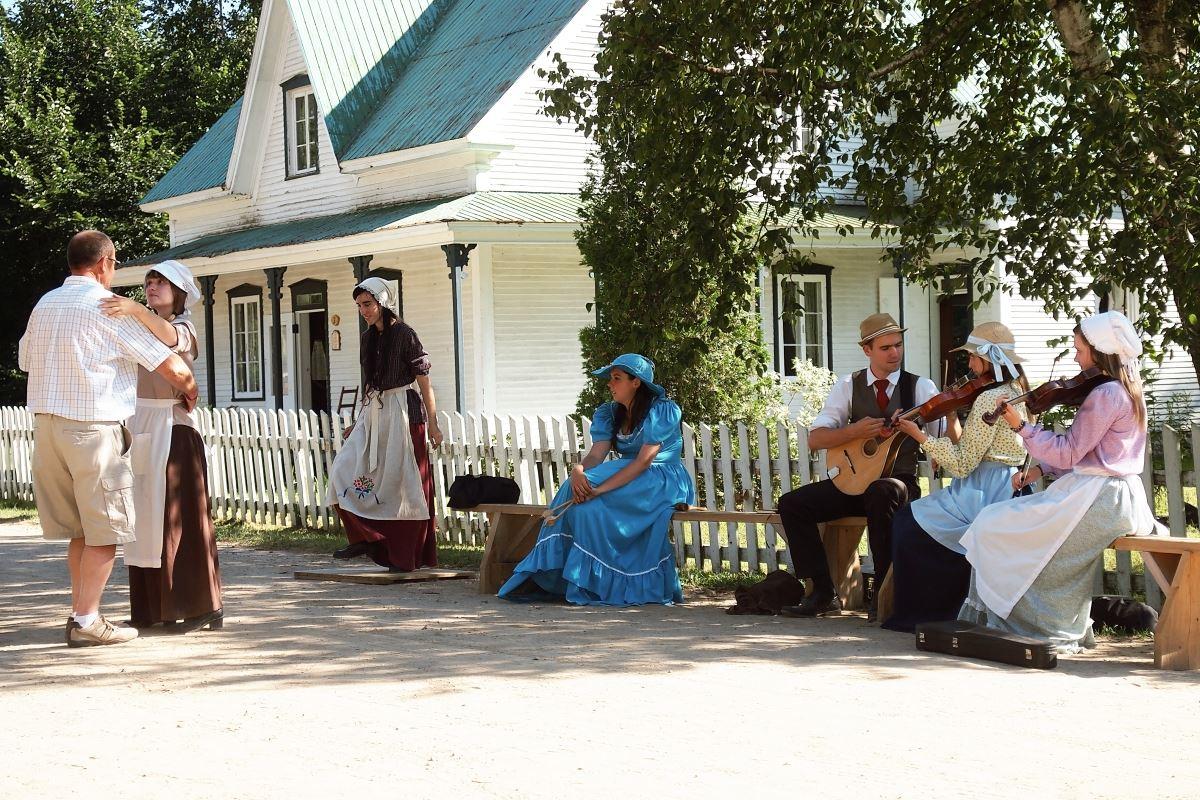 Le Village québécois d'antan à Drummondville