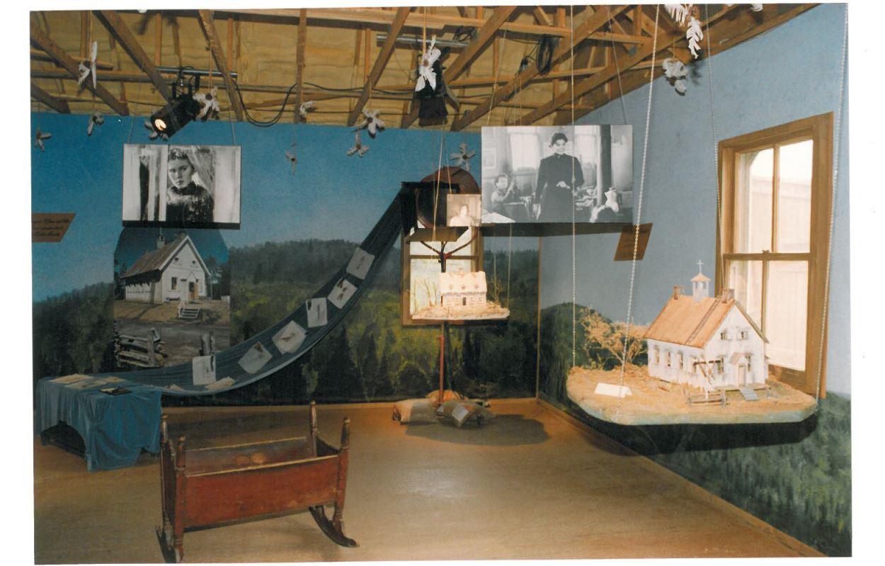 Un musée était consacré à l'univers des Filles de Caleb