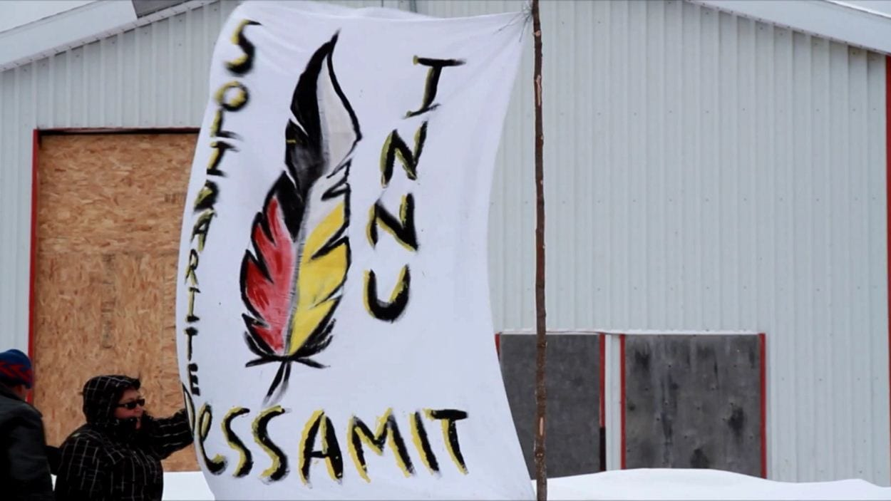 Les Innus de Pessamit ont participé à la mobilisation nationale