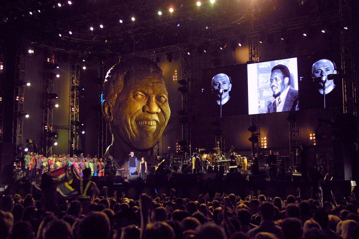 Concert 46664 pour la lutte contre le VIH/sida