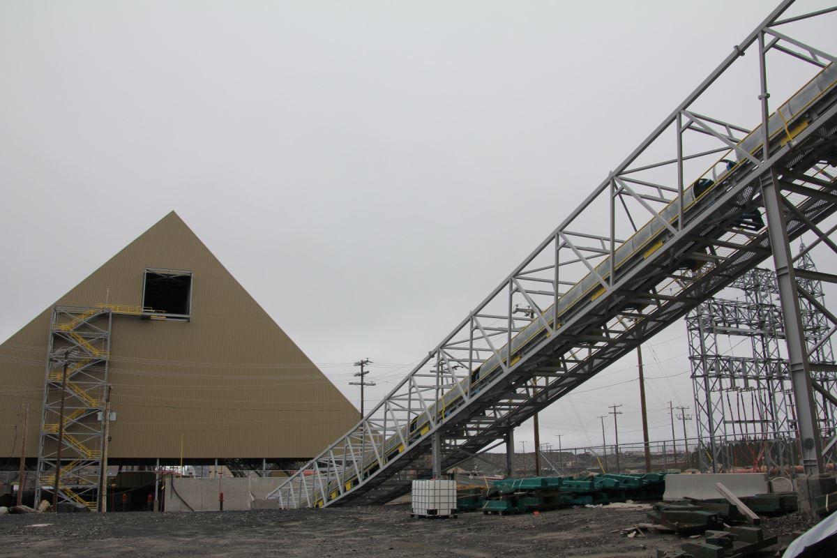 Les installations de la mine