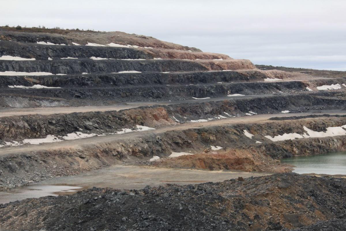 Fosse de la mine