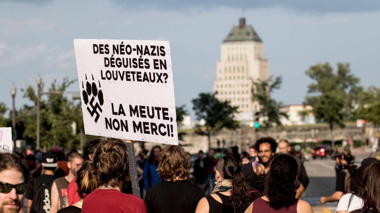 La manifestation de dimanche à Québec
