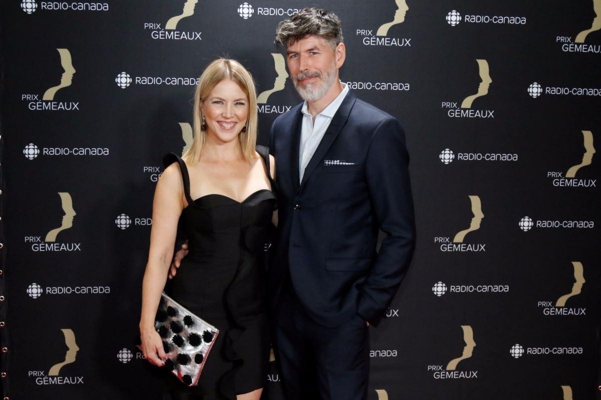 Julie Bélanger et Ken Shuglo