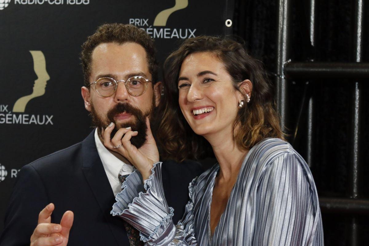Karine Gonthier-Hyndman et Guillaume Girard