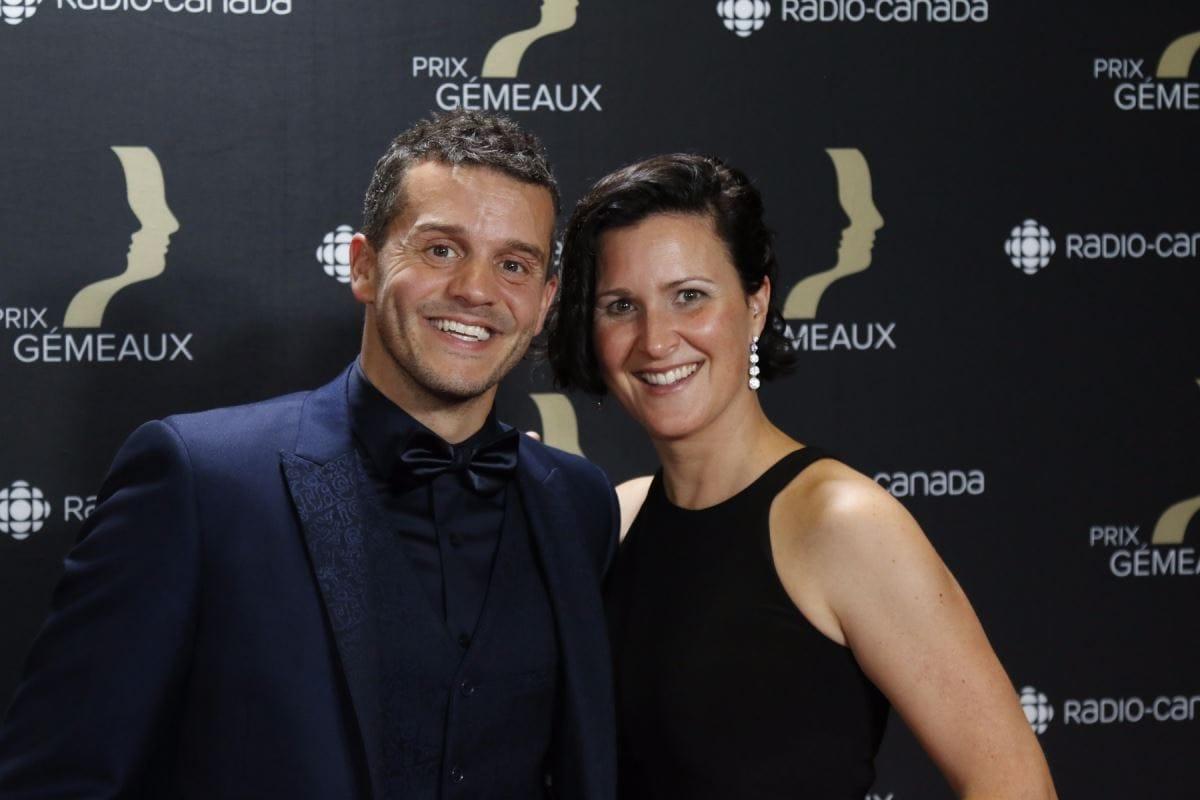 Patrice Bélanger et sa femme Marie-Claude Trottier