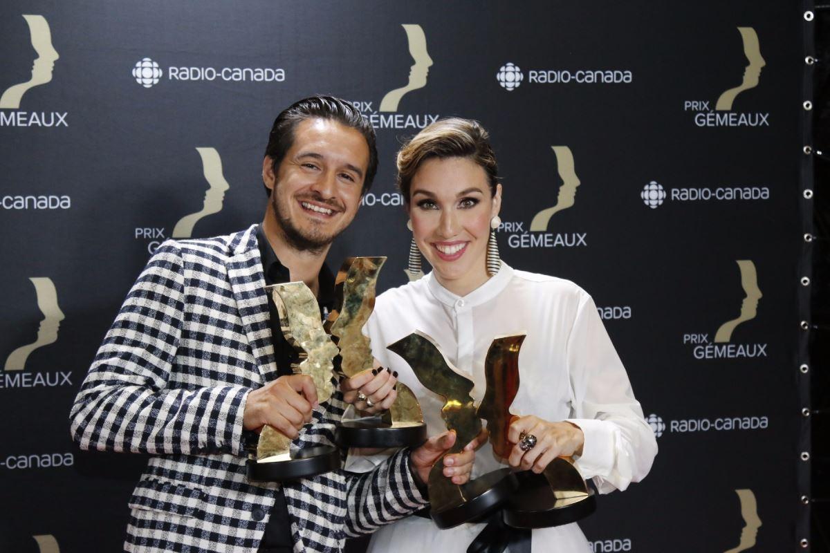 Bianca Gervais et Sébastien Diaz
