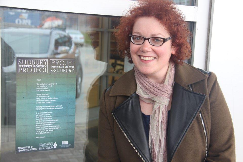 Kim Fahner est la poète officielle sortante du Grand Sudbury.