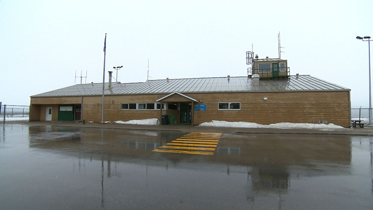 L'aéroport d'Anticosti