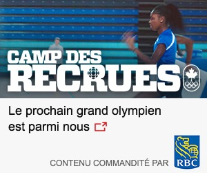 Camp des recrues : le prochain grand olympien est parmi nous. Contenu commandité par la Banque Royale du Canada.